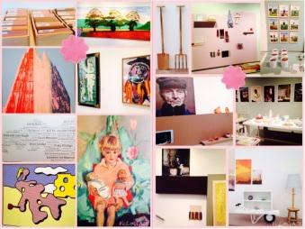 Collage van mijn bezoek aan NB en Stedelijk Museum Den Bosch.